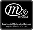 Mathematical Society of Wayamba